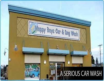 Welcome to Happy Bays Car & Dog Wash in Calgary