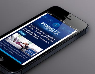 O2 Priority Moments email design