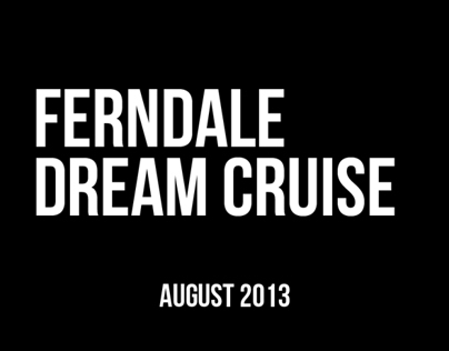 Ferndale Dream Cruise Artwork