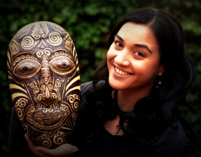 Commissioned Henna Mask for WaterAid Australia