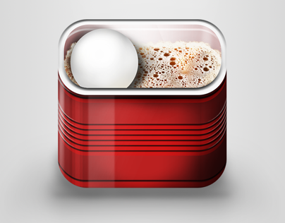 Beer-pong iOS game icon