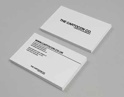 The Cartocon Co. Business Cards