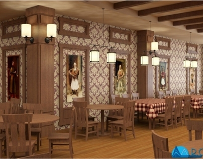 INTERIOR: Traditional Restaurant