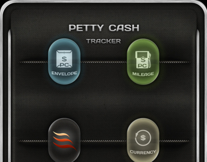 UI/UX Design - PettyCashTracker App