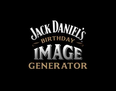Jack Daniels B-day Image Generator
