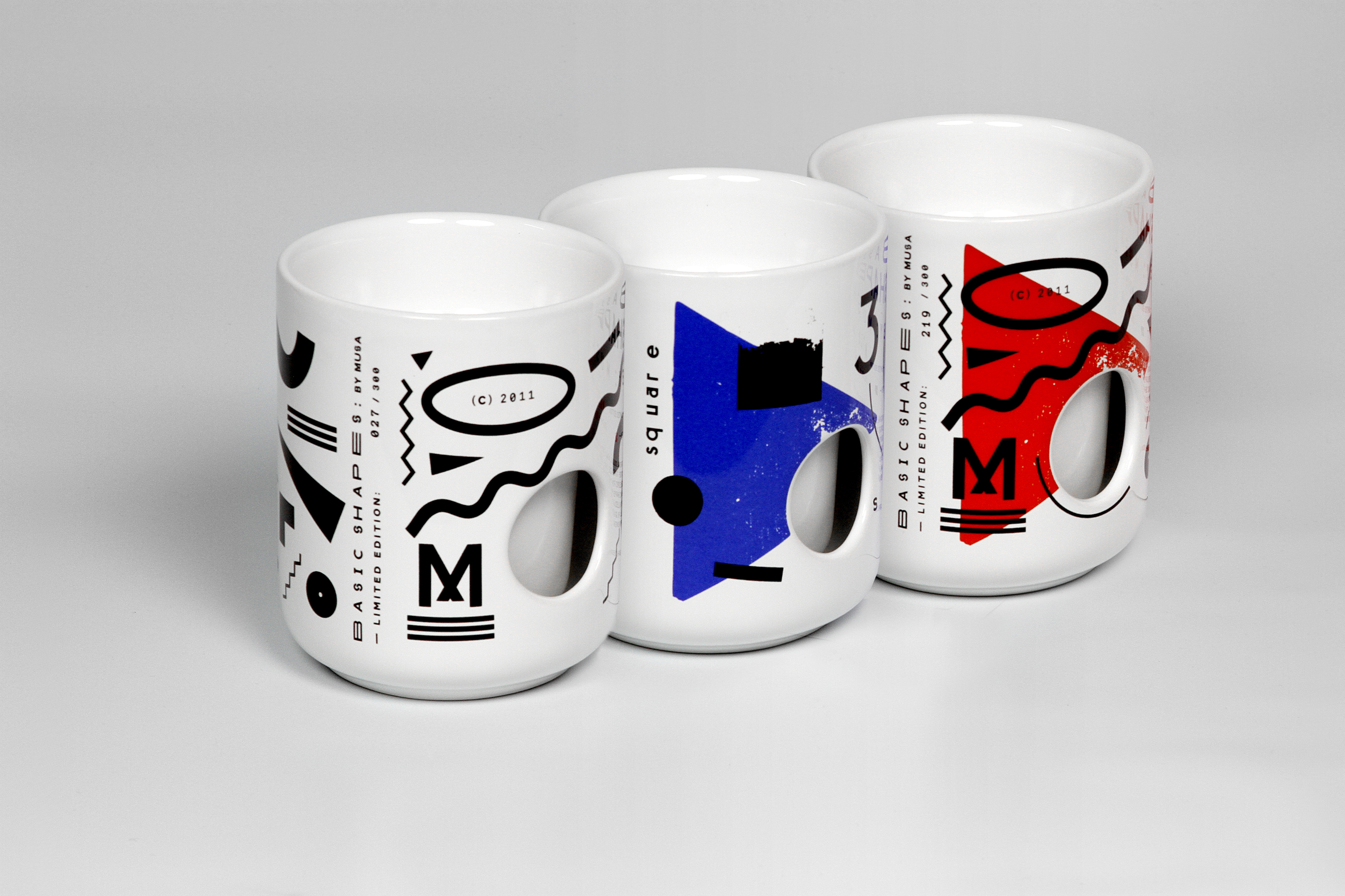 Basic Shapes Limited Edition Cups and Candles by Musa