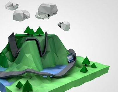 Self Dev. - Low poly 3D