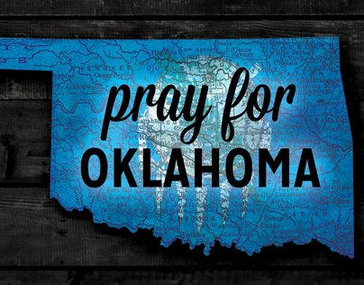 Facebook Cover - Pray for Oklahoma