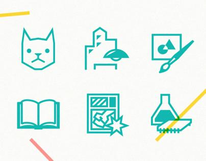 COOKI section icon set