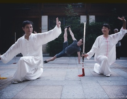 Yoga photo session in Hangzhou, China