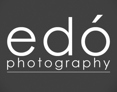Edó Photography Logo Application