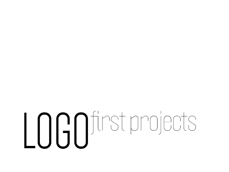 LOGO / FIRST PROJECTS 2011 2012
