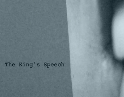 The Kings Speech Title Sequence