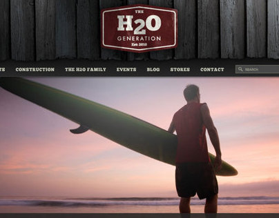 H2O Generation Web Design & Development