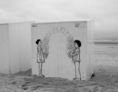 Cabin Art - Sint Idesbald
