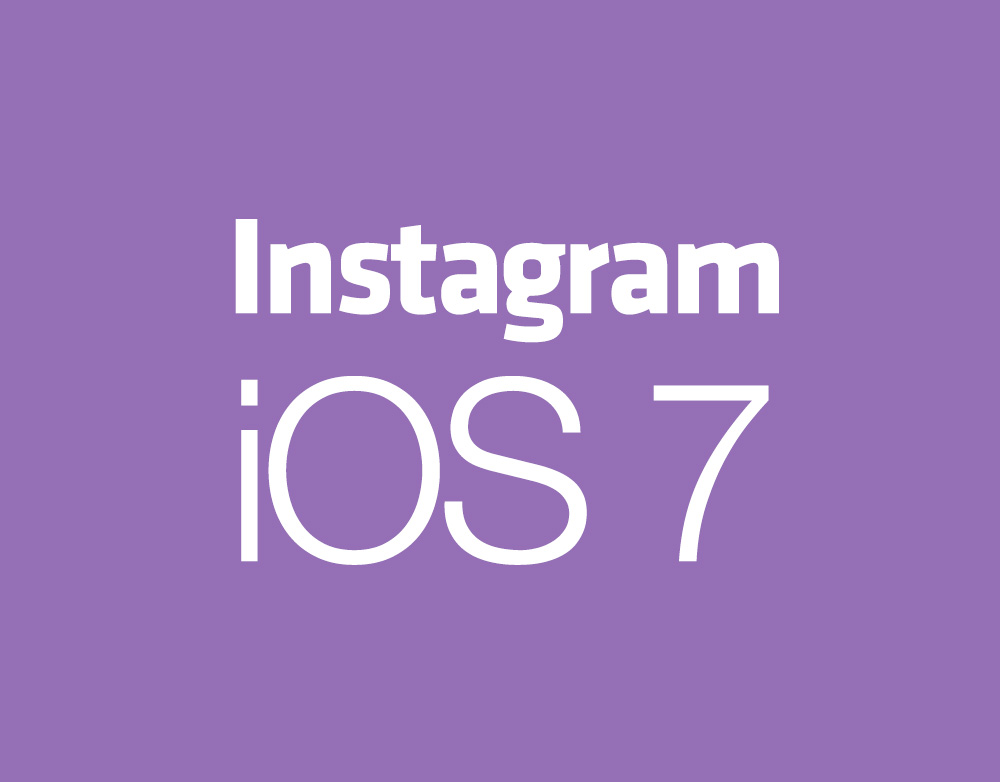 Instagram concept for iOS 7