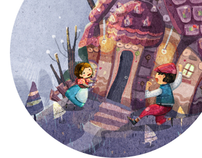 Hansel-Gretel picture book