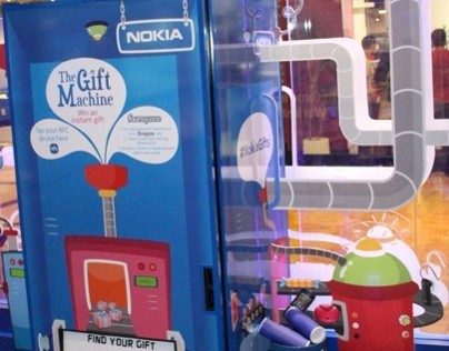 NOKIA GIFT MACHINE