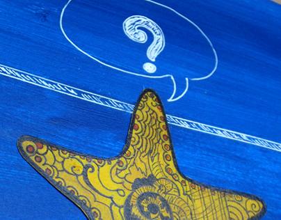 Mixed Media - Vignettes illustration