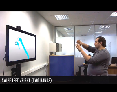 Kinect gestures research & simulation