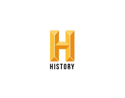 HISTORY CHANNEL BRAND IDENTITY