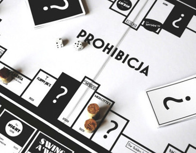 PROHIBICJA BOARD GAME DESIGN