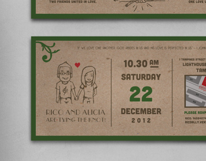 Wedding Invite