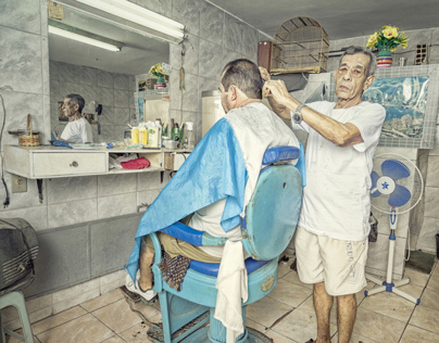Hair dressers Complexo do Alemao