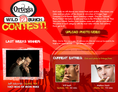 Web: Ortega Wild Bunch Contest