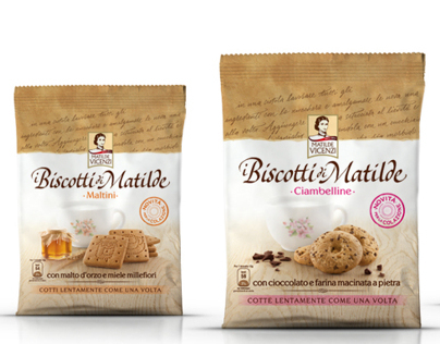 New brand&packaging identity for biscuits range