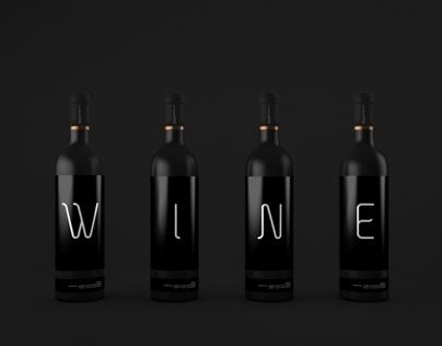 Wine Bottles Mock-up