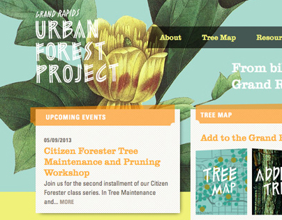 Grand Rapids Urban Forest Project