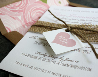 Lamoureux Shower Invites