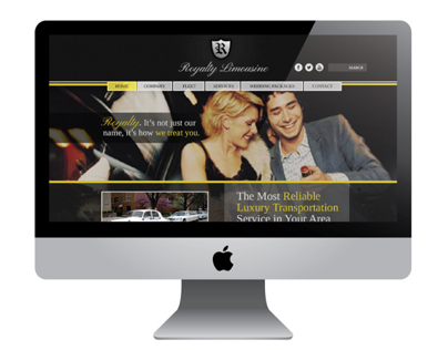 Royalty Limousines Website