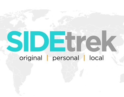 SideTrek - Travel Site Concept