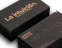 La Intuición business card