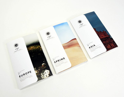 Astray Travel Co : Brochure Design