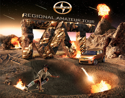 Scion RAT Tour Branding Artwork