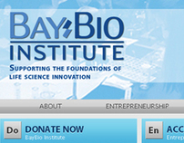 BayBio Institute Web Site