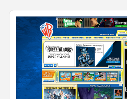 Warner Brother Kids Website