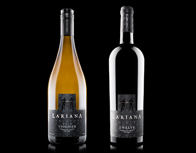 Lariana Cellars - Branding & Label Design