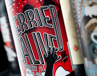 Berried Alive - Product Naming, Branding, Label Design