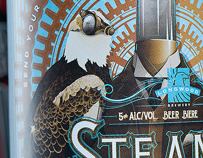 SteamPunk - Product Naming, Branding, Packaging Design
