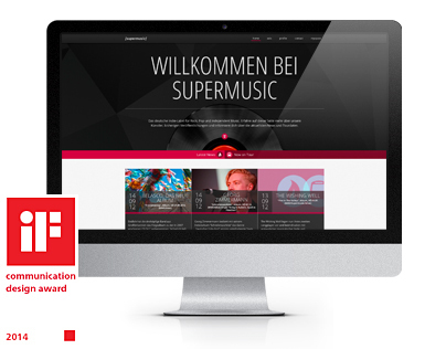 [supermusic] responsive website