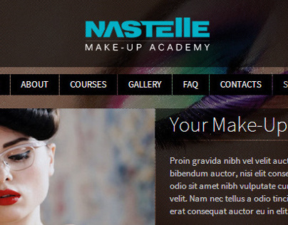 Nastelle Academy - website