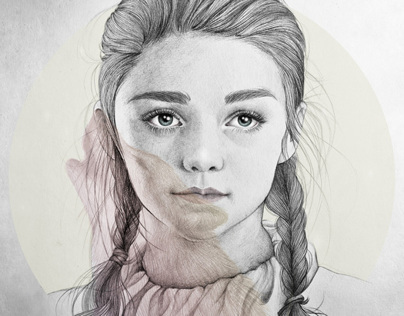 Arya Stark illustration (G.O.T) vol.2