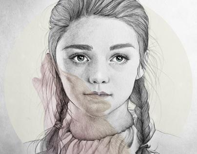 Arya Stark illustration (G.O.T) vol.2