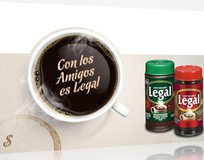 Café Legal POP Kit