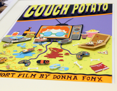 Couch Potato 3D Movie Poster