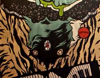 Monster Magnes - Mural